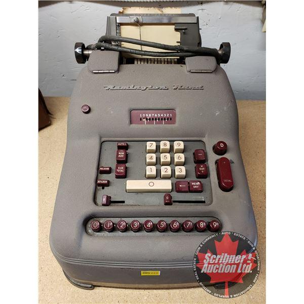 Remington Rand Electric Adding Machine/Printing Calculator (Made in Canada)