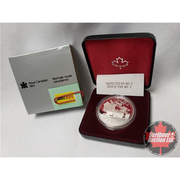 RCM Proof Dollar in Case - Canada 1981