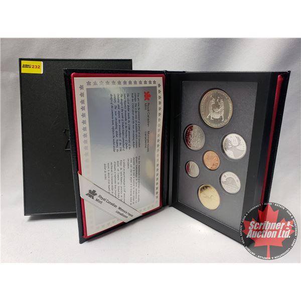 RCM Double Dollar Proof Set 1988
