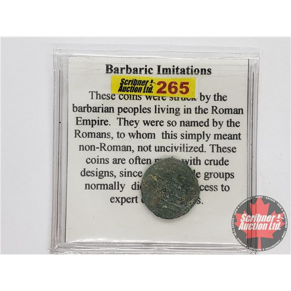 Ancient Coin: Barbaric Imitations