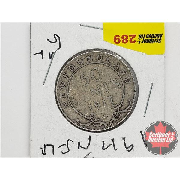 Newfoundland Fifty Cent 1917c