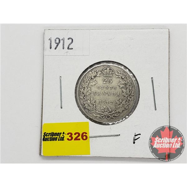 Canada Twenty Five Cent 1912