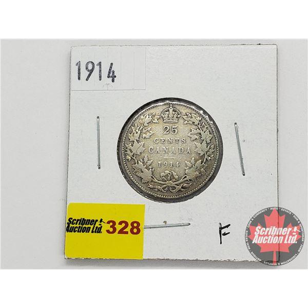 Canada Twenty Five Cent 1914