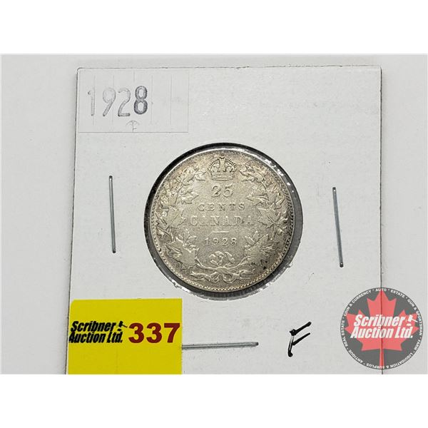Canada Twenty Five Cent 1928