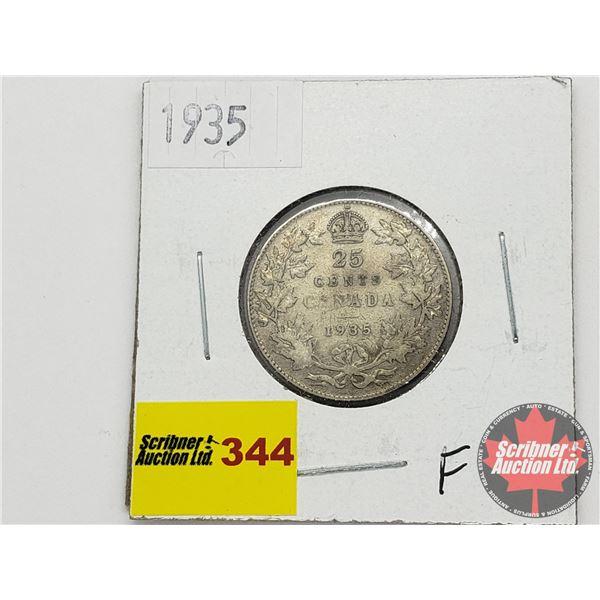 Canada Twenty Five Cent 1935