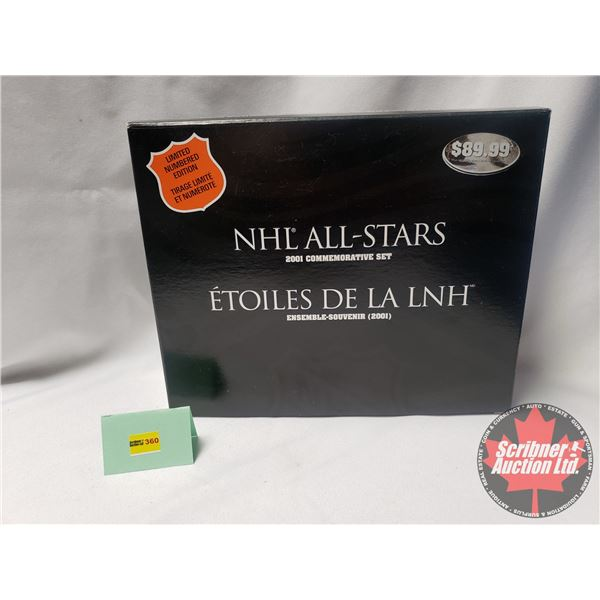 NHL All-Stars 2001 Commemorative Set - Limited Numbered Edition