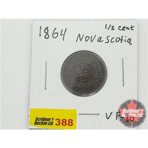 Nova Scotia Half Cent 1864