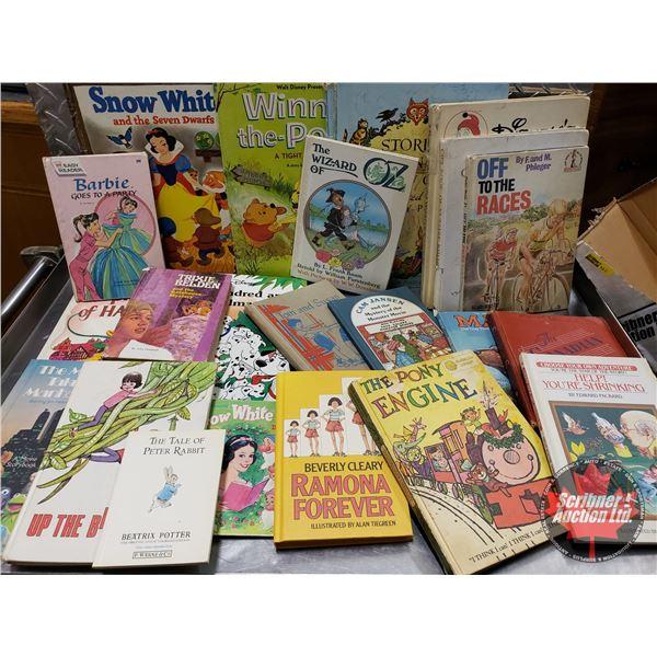 Box Lot: Vintage Children's Books (22) (SEE PICS!)
