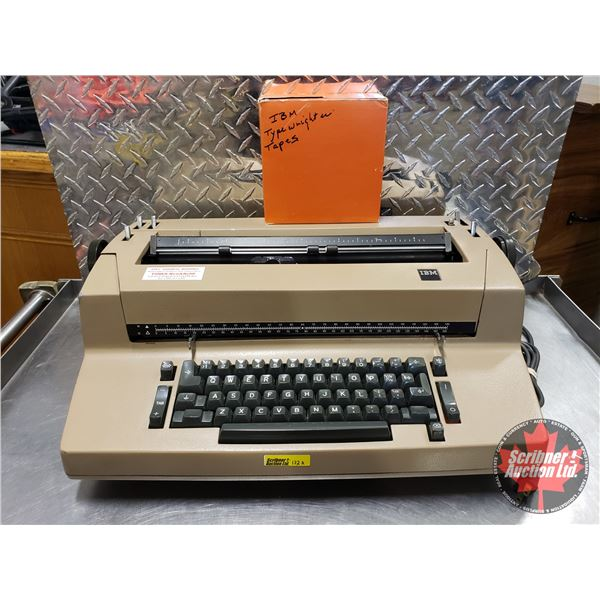 IBM Electric Typewriter & Tapes (Very Well Maintained!)