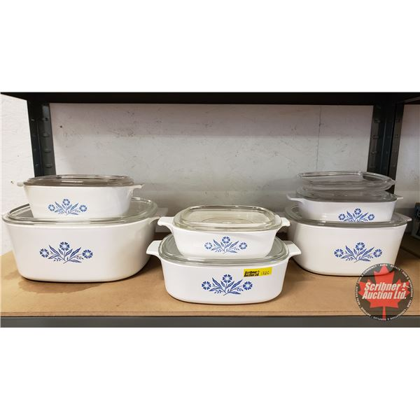 Corningware Set of 6 Casserole Dishes (Incredible Condition!) (SEE PICS!)