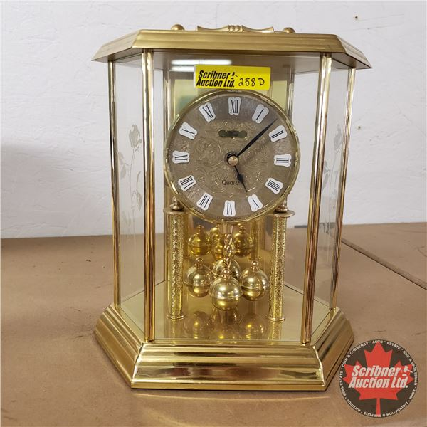 Konig Quartz Carriage Clock