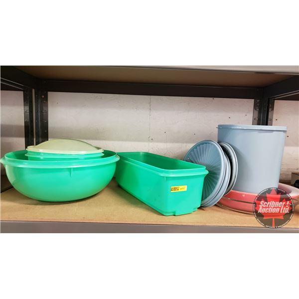 Asst'd Vintage Tupperware & Casserole Dishes