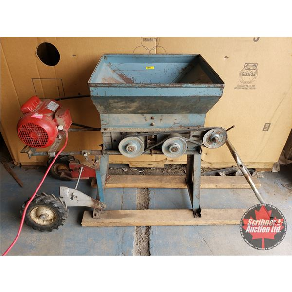 """Electric Roller Mill 115 Volt (36""""H x 18""""W)"""