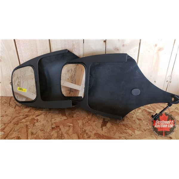Towing Mirrors (Fit: F150/Econoline 1999 to 2004)