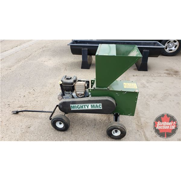 """Mighty Mac Gas Powered Wood Chipper 10hp (44""""H)"""
