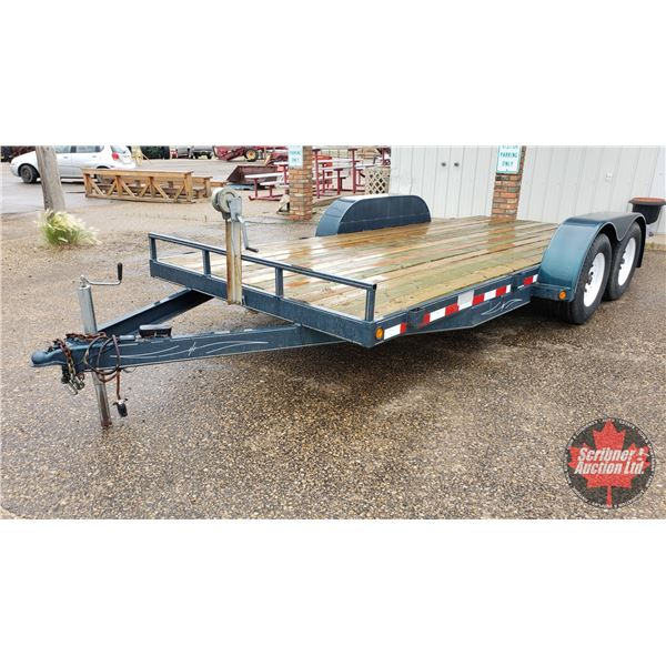 1999 Utility Trailer Model 70X16 (GVWR 3185) with Ramps S/N#2P9UE2329X1057152