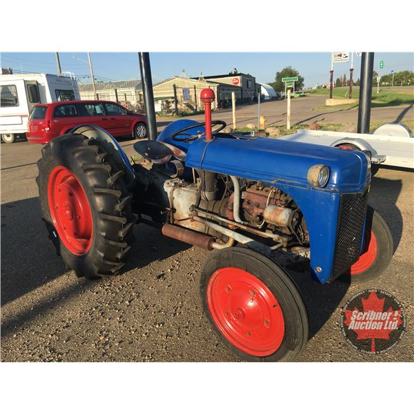 Ford 9N Tractor - Running w/3 PT Hitch