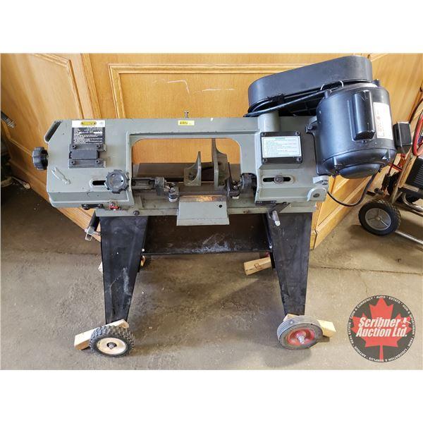 """Trademaster TM13601Horizontal & Vertical Metal Cutting Band Saw (39""""H)"""