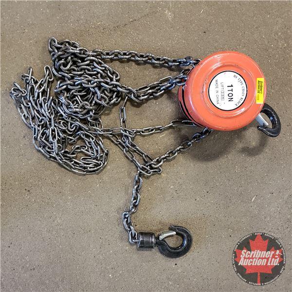 Chain Hoist 1 Ton