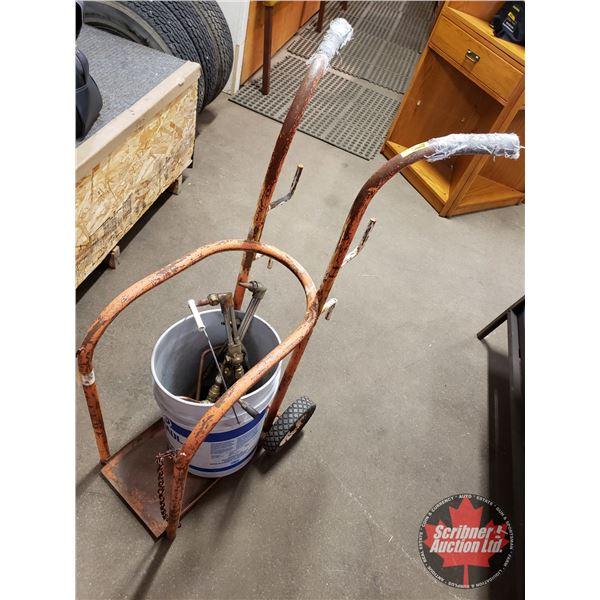 Cart w/Acetylene Torch Ends