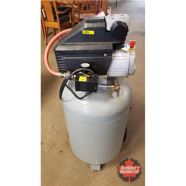 """Portable Air Compressor Iron Horse 20gal (42""""H)"""