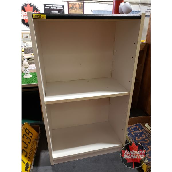 "White Bookshelf (31-1/2""H x 18-1/2'W x 10""D)"