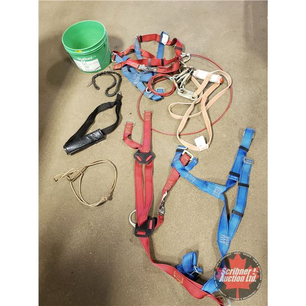 Pail Lot: Safety Harnesses