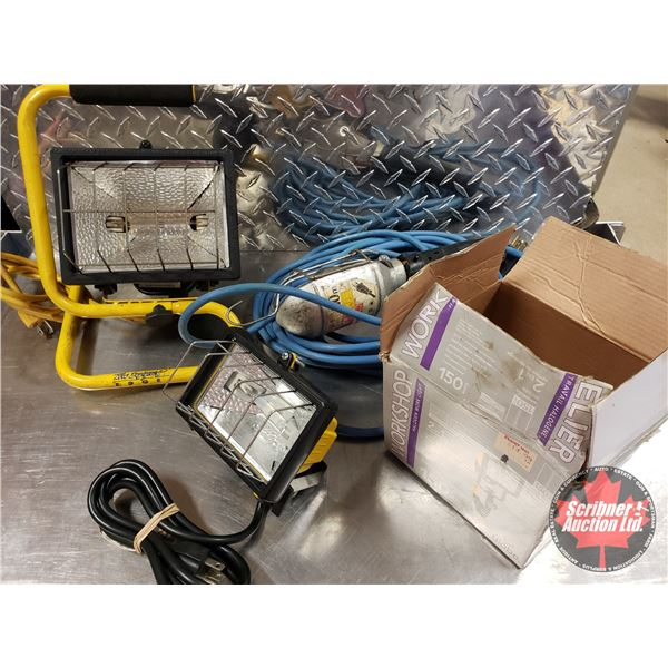 Tray Lot: Work Lights (3)