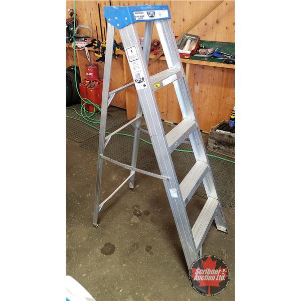 Lite 5ft Alum Step Ladder