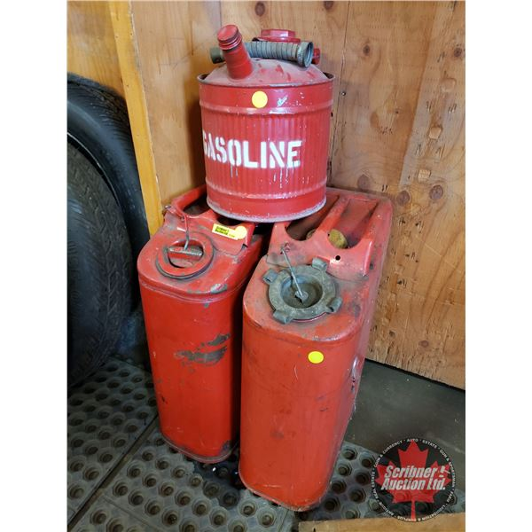 Metal Gas Cans (3)
