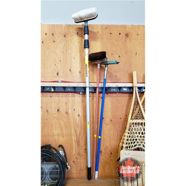 Long Handled Brushes & Squeegee