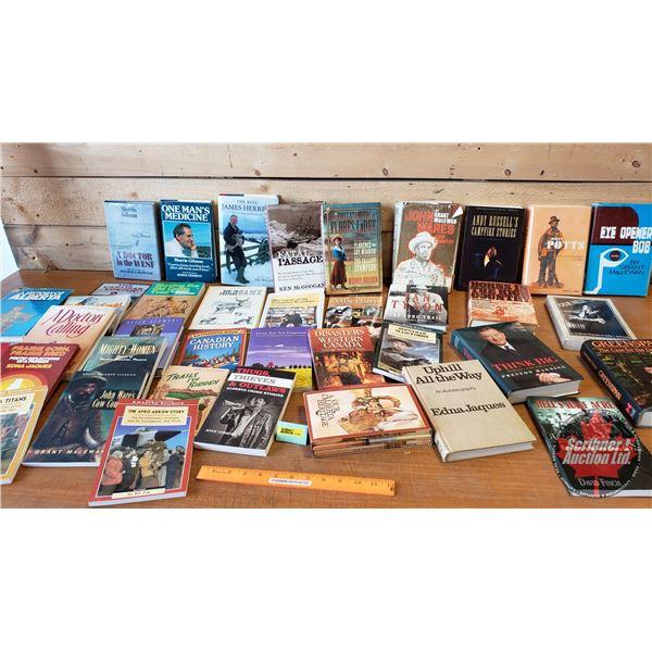 BOOKS (40): Variety ~ Alberta Prairies, Cowboy, Country Theme (Incl: History of Alberta, Our Alberta