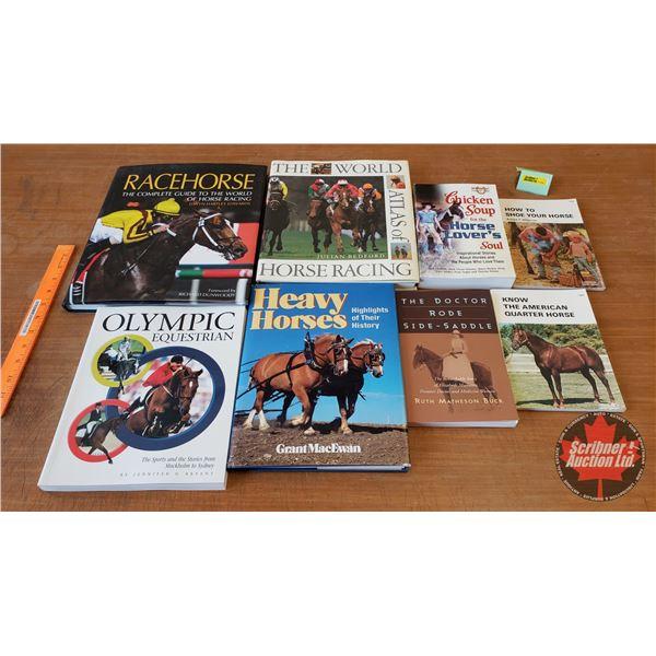 BOOKS (8): Variety - Horse Theme (SEE PICS!)