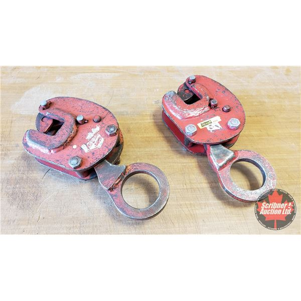 Sheet Steel Lifting Clamps (2)