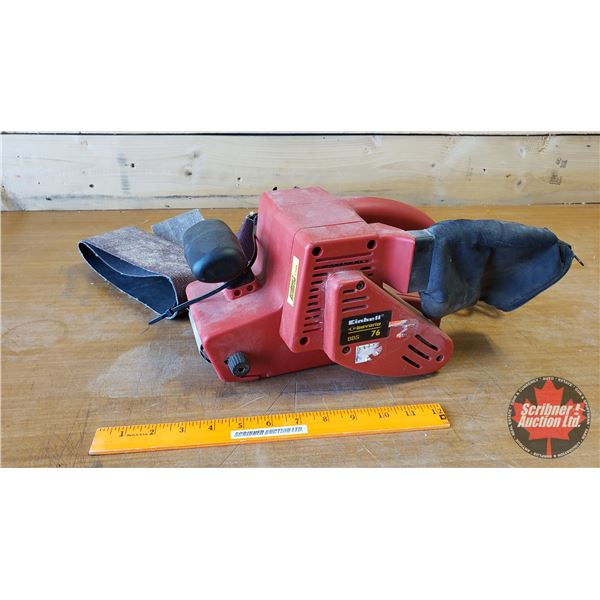 Einhell Belt Sander & Extra Belts