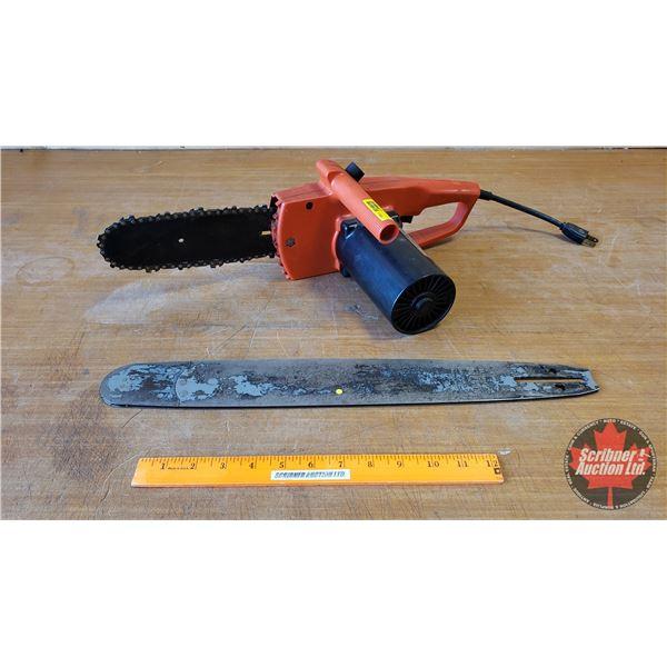 """Remington Limb n' Trim Electric Chainsaw w/Additional Saw Bar (19-1/2"""")"""