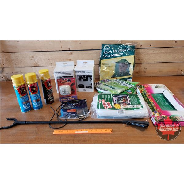 Box Lot: Weather Strip, Rain Diverters, Flymat, Foam Insulation, etc