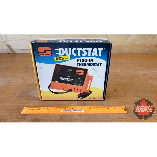 Ductstat Plug-In Thermostat