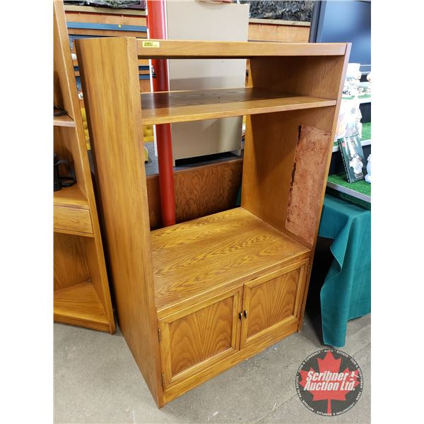 """Wooden TV Stand (55""""H x 33""""W x 22""""D)"""