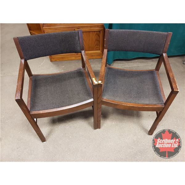 """Boardroom Chairs (2) (31""""H)"""