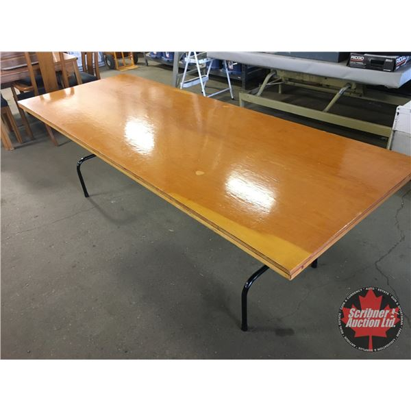 Plywood Folding Table (3ft x 8ft)