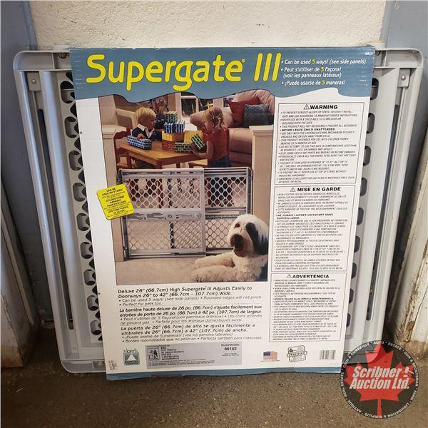 Supergate III Baby Gate