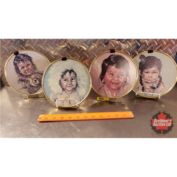 Indigenous Children Wall Hangings (4)
