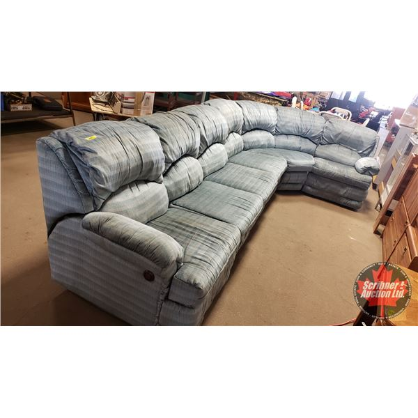 6pc Sectional Sofa (Can be configured many different ways to fit any space!) (At it's Longest Length