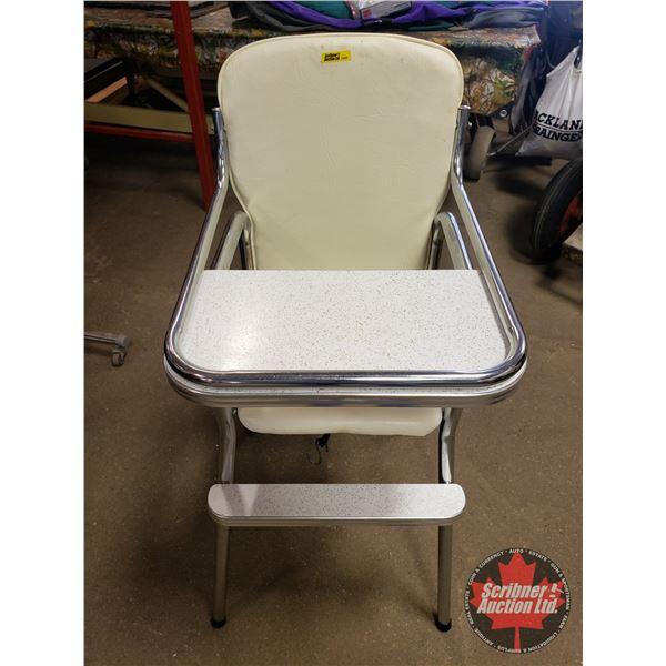 """Retro High Chair (39""""H)"""