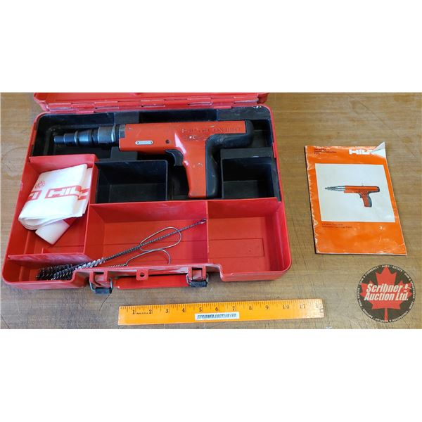 Hilti DX350 Piston Tool w/Automatic Cartridge Feed (explosive actuated tool)