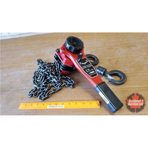 3/4 Ton Chain Hoist