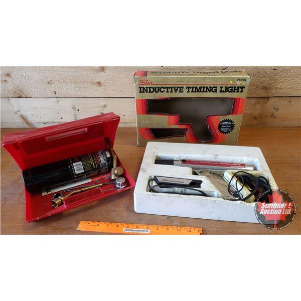 Timing Light & Jet Propane Torch Kit