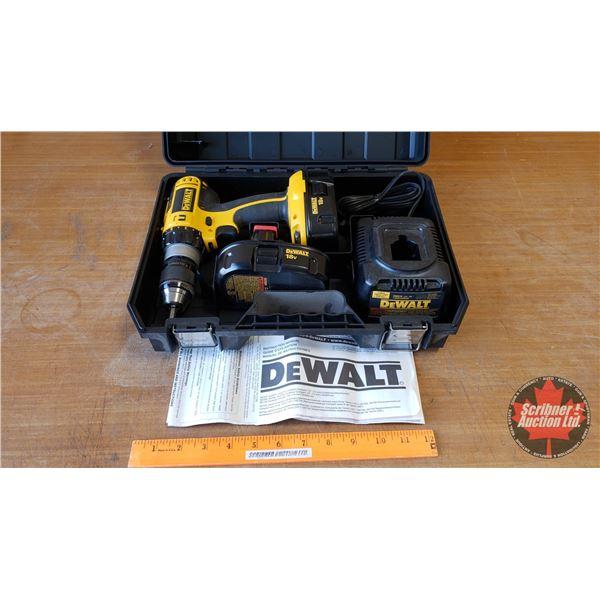 DeWalt 18 Volt Drill w/2 Batteries