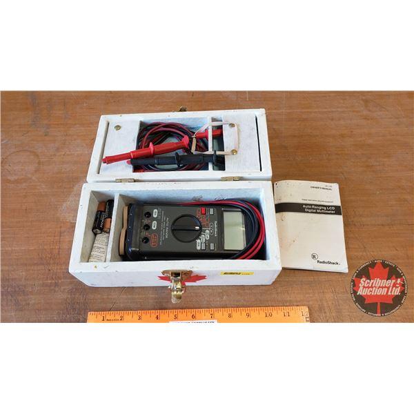 Radio Shack Auto Ranging LCD Digital Multimeter